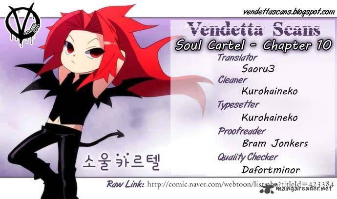 Soul Cartel 10 Page 1