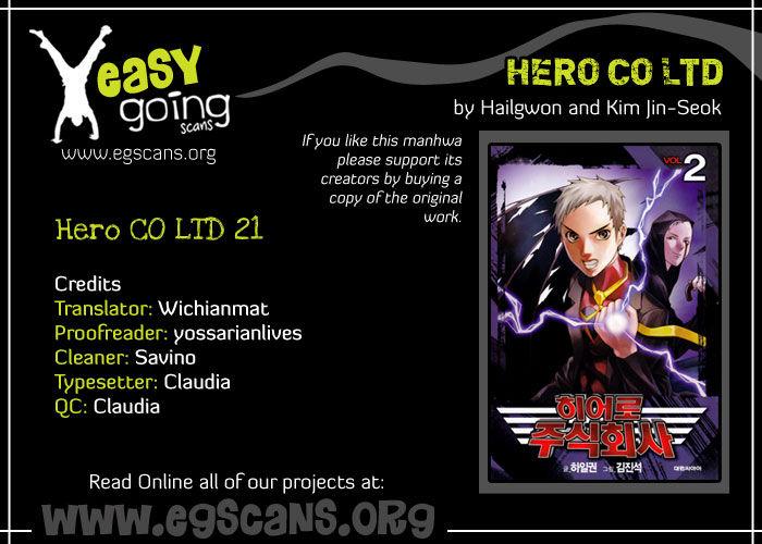 Hero Co., Ltd. 21 Page 1