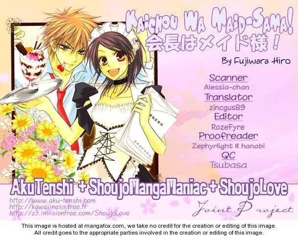 Kaichou Wa Maid-sama! 4 Page 1