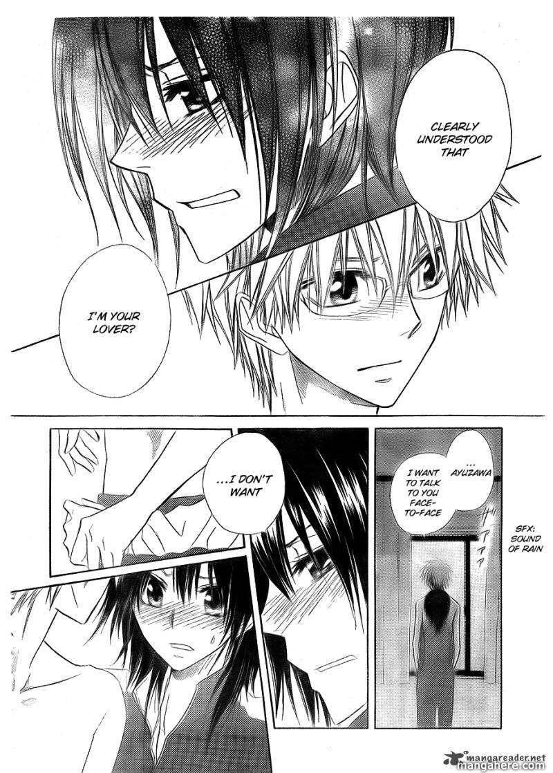 Kaichou Wa Maid-sama! 62 Page 4