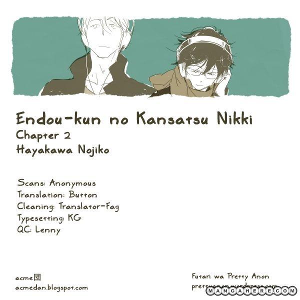 Endou-kun no Kansetsu Nikki 2 Page 1