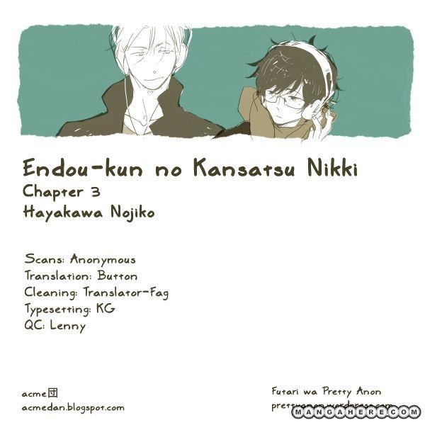 Endou-kun no Kansetsu Nikki 3 Page 1