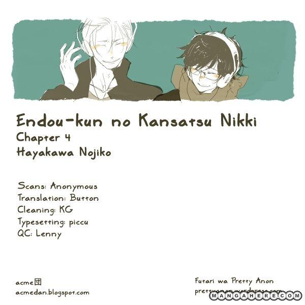 Endou-kun no Kansetsu Nikki 4 Page 1