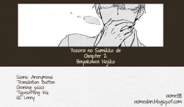Yozora no Sumikko de, 2 Page 1