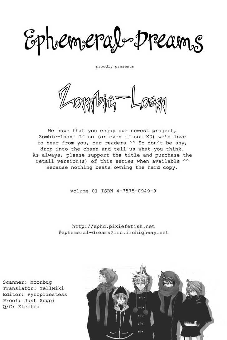 Zombie-Loan 1 Page 1