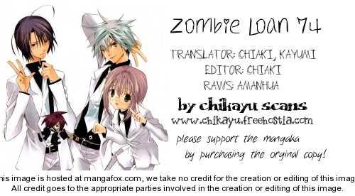 Zombie-Loan 74 Page 1