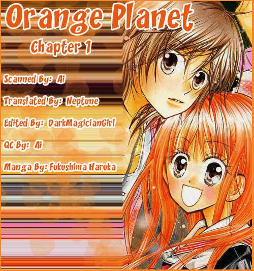 Orange Planet 1 Page 1