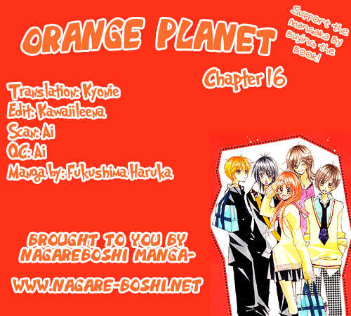 Orange Planet 16 Page 1