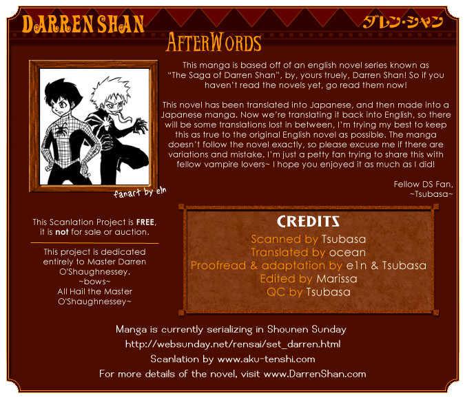 Darren Shan 1 Page 1