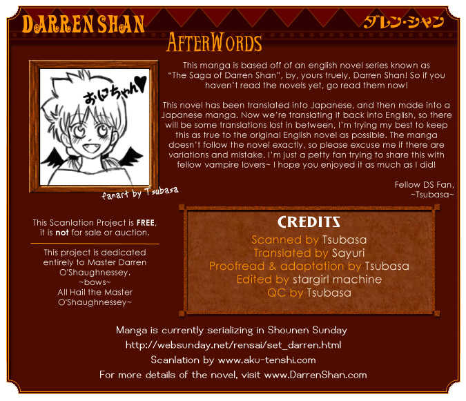 Darren Shan 3 Page 1
