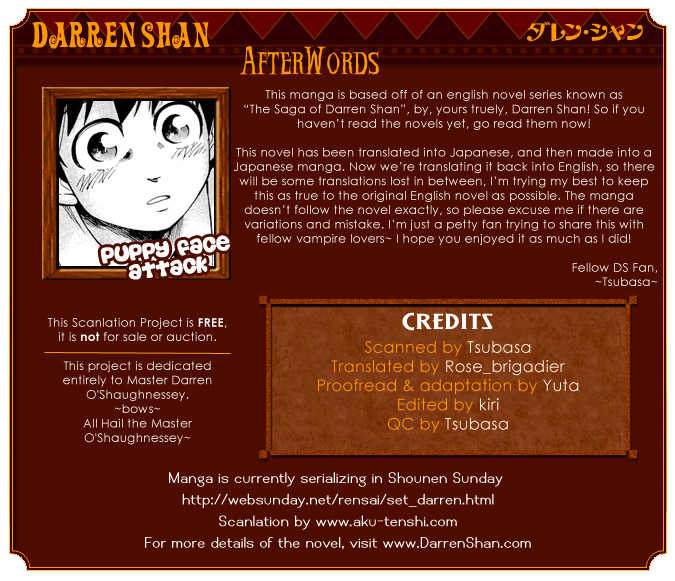 Darren Shan 5 Page 1