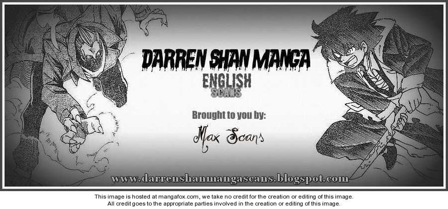 Darren Shan 52 Page 1