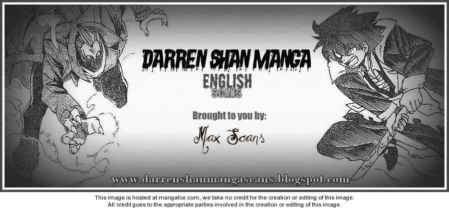 Darren Shan 60 Page 1