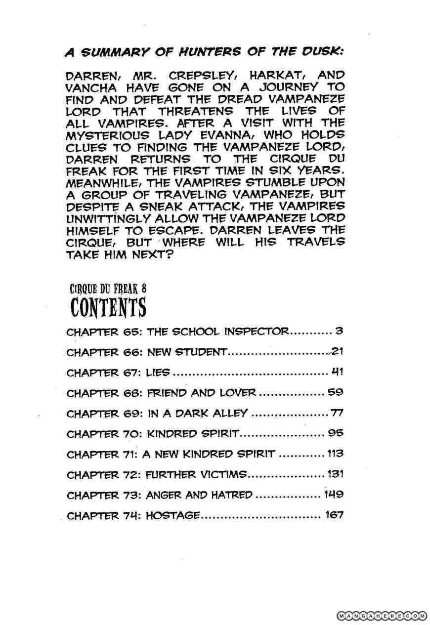 Darren Shan 65 Page 3