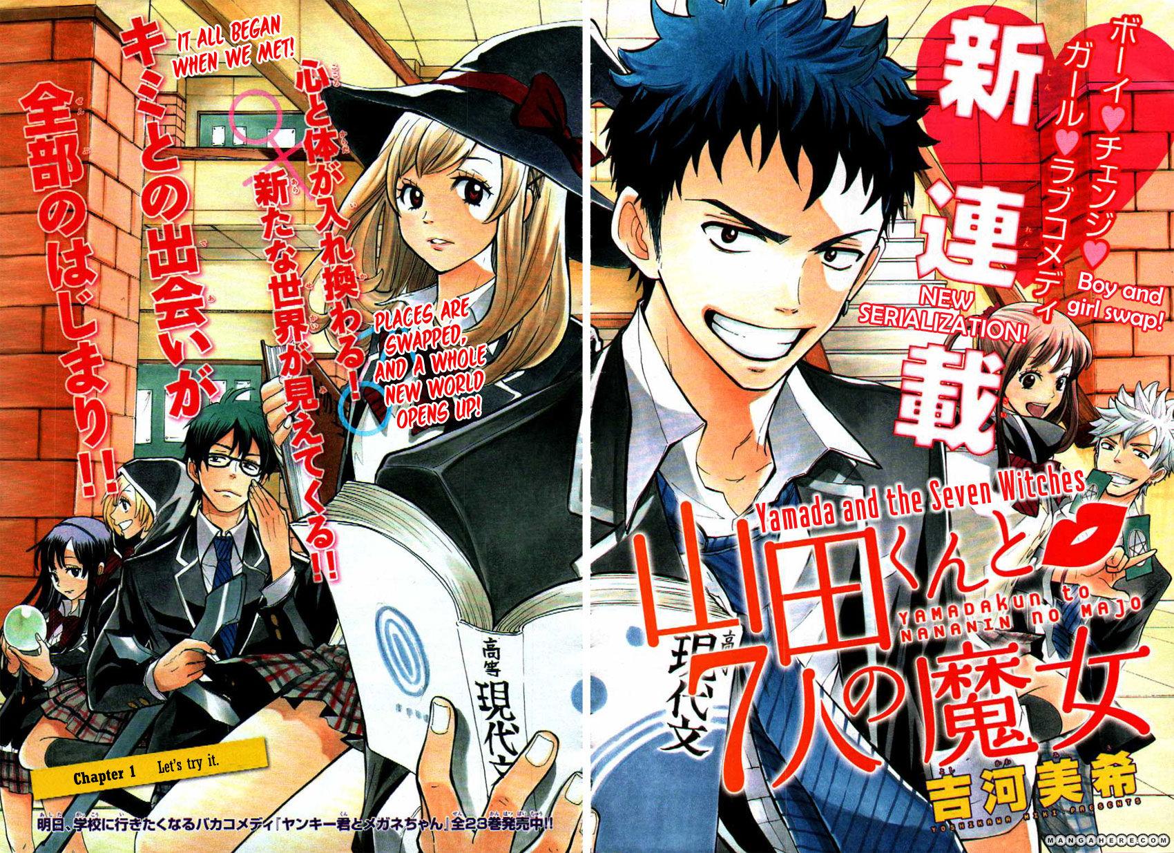 Yamada-kun to 7-nin no Majo 1 Page 2