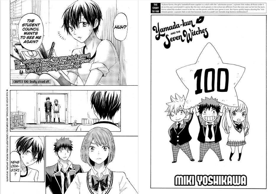 Yamada-kun to 7-nin no Majo 100 Page 1