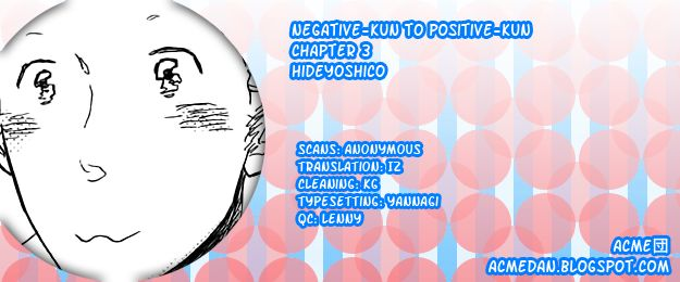 Negative-kun to Positive-kun 3 Page 1
