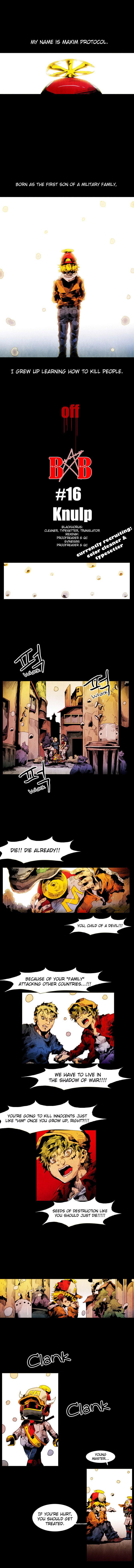 Black Behemoth 16 Page 1
