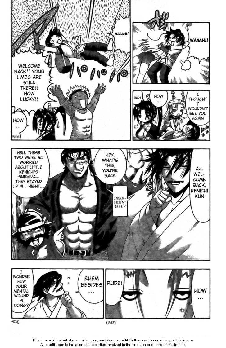 Historys Strongest Disciple Kenichi 292 Page 3