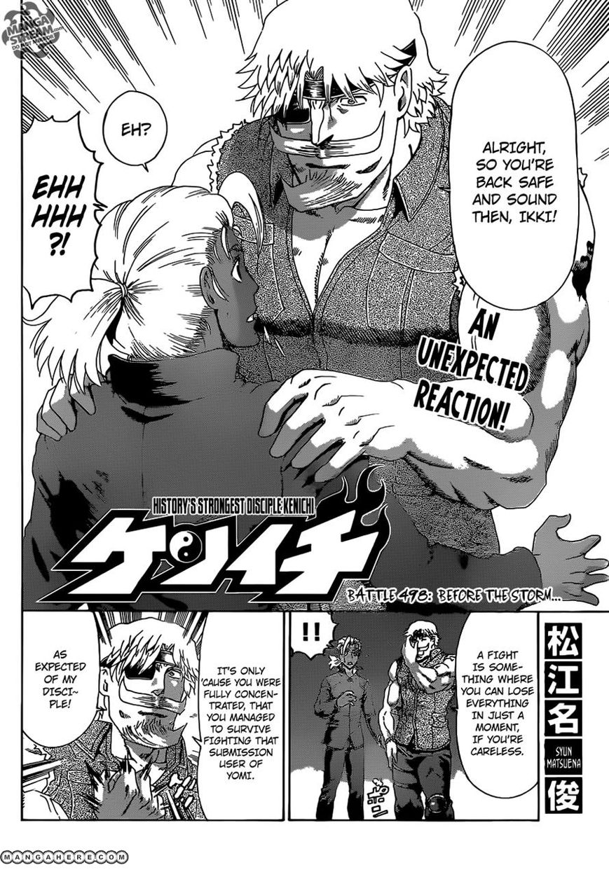 Historys Strongest Disciple Kenichi 498 Page 2