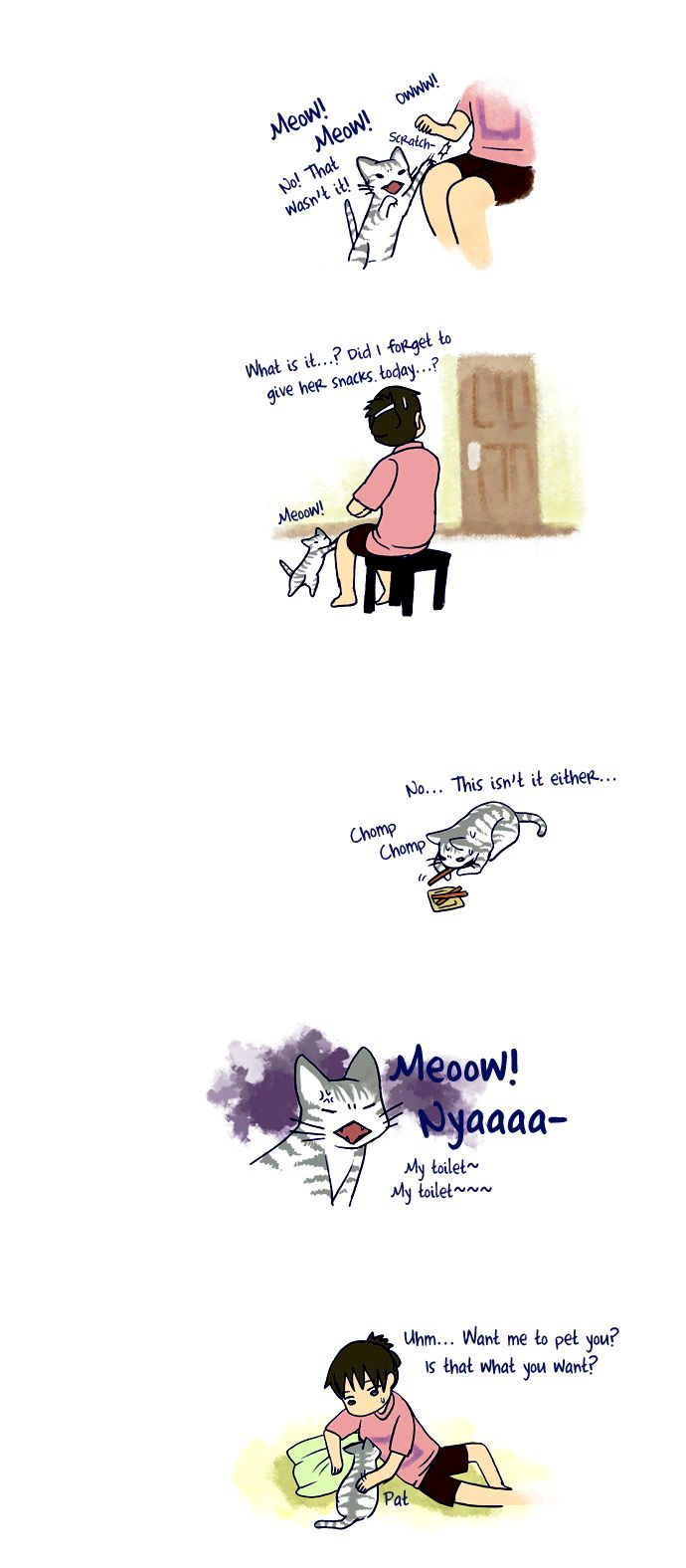 My Young Cat and My Old Dog 54 Page 2