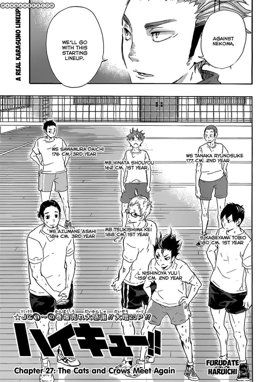 Haikyu!! 27 Page 1
