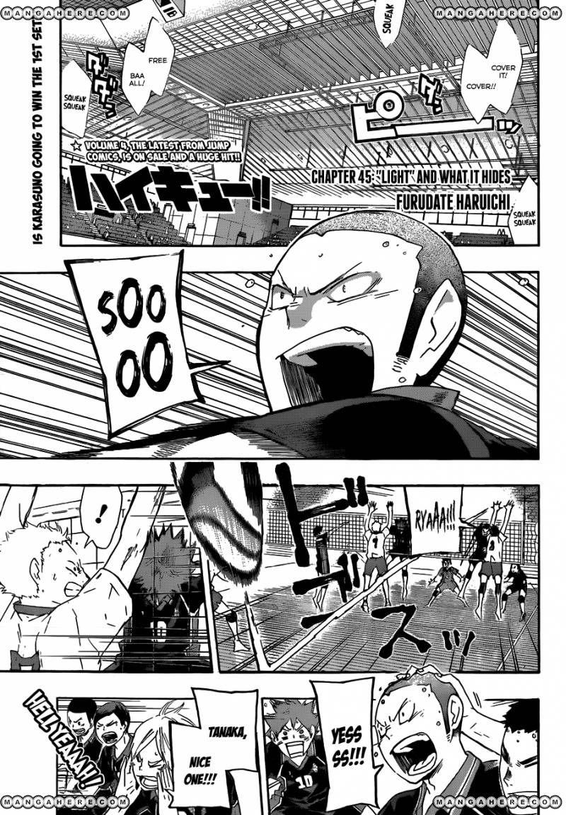 Haikyu!! 45 Page 3