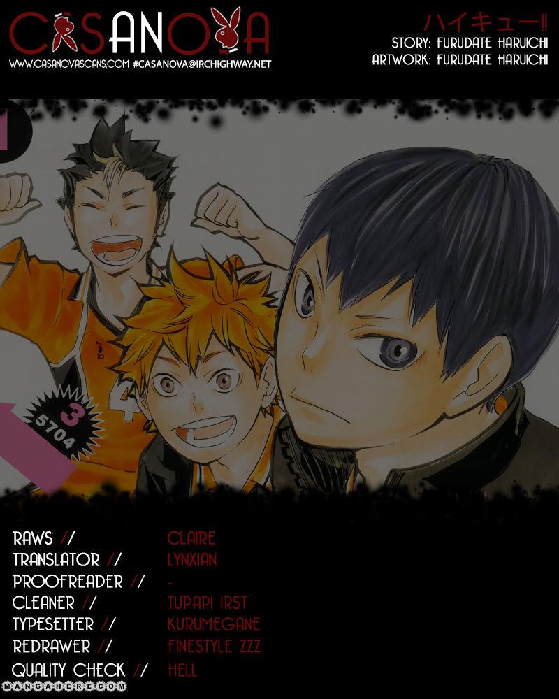 Haikyu!! 58 Page 1