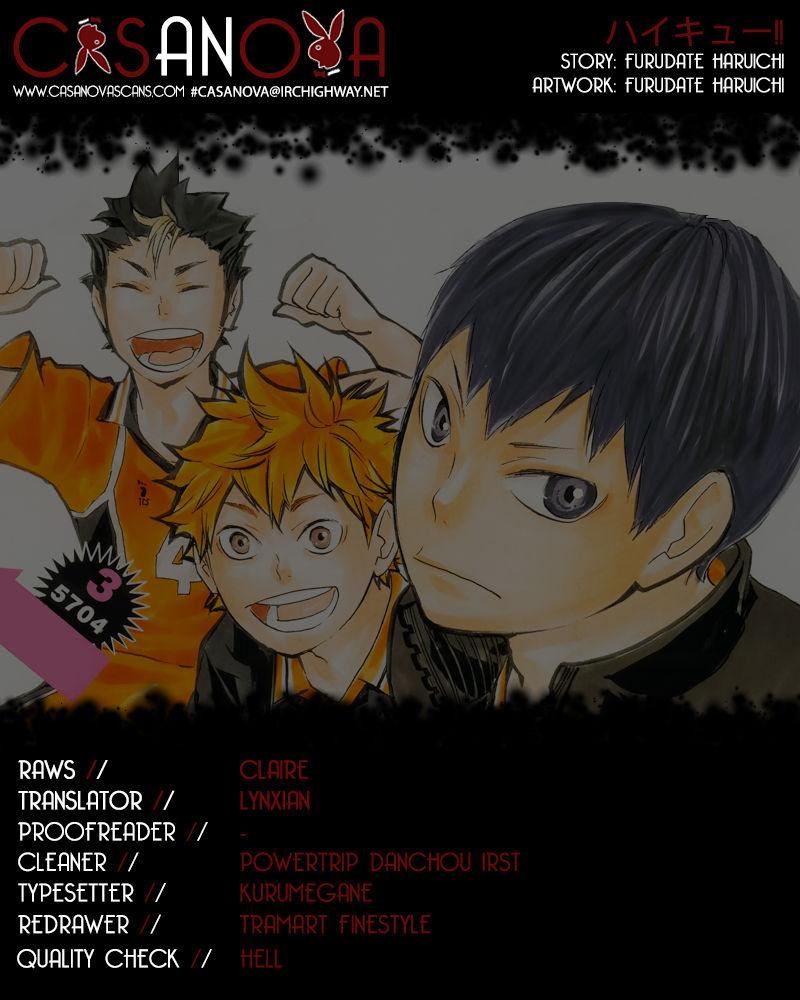 Haikyu!! 69 Page 1