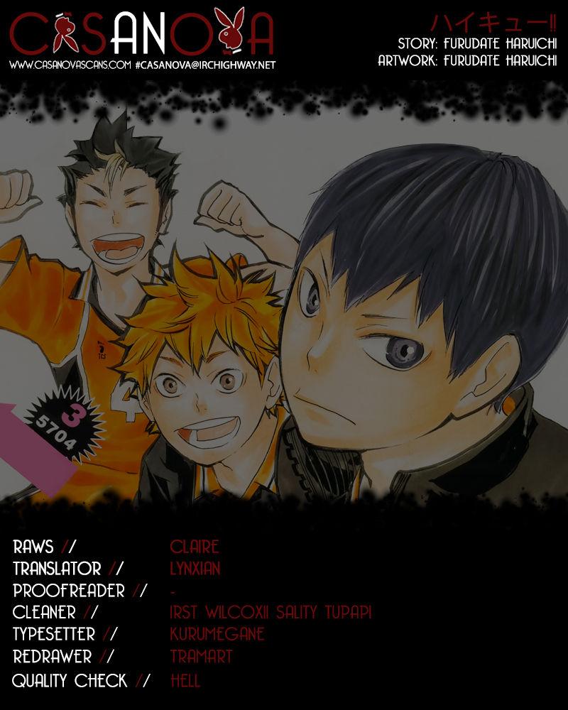 Haikyu!! 71 Page 1