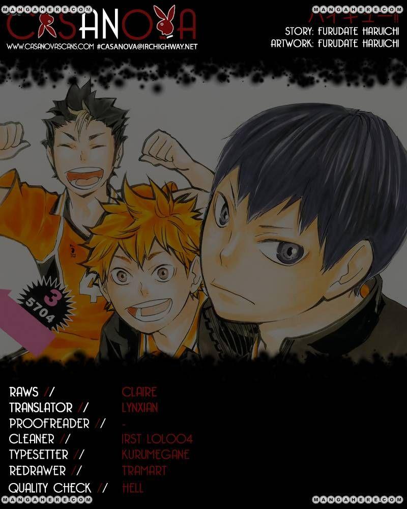 Haikyu!! 73 Page 1