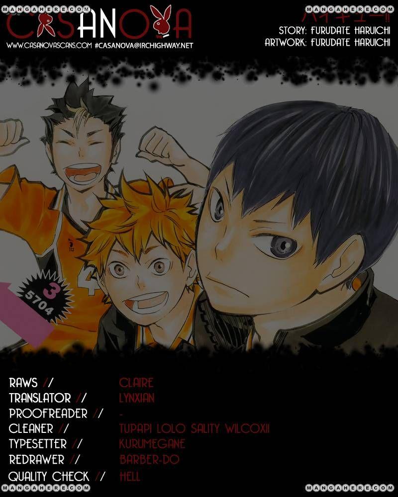 Haikyu!! 77 Page 1