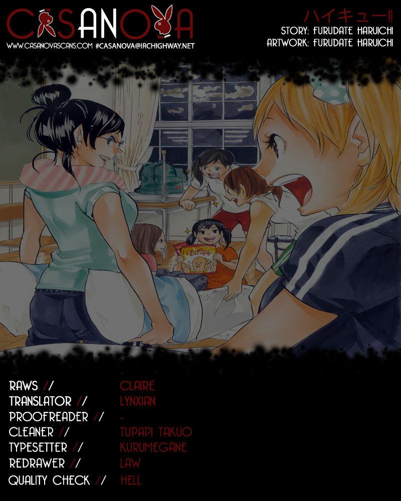 Haikyu!! 95 Page 1