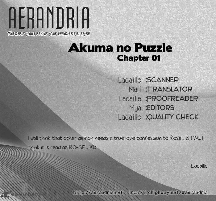 Akuma no Puzzle 1 Page 2
