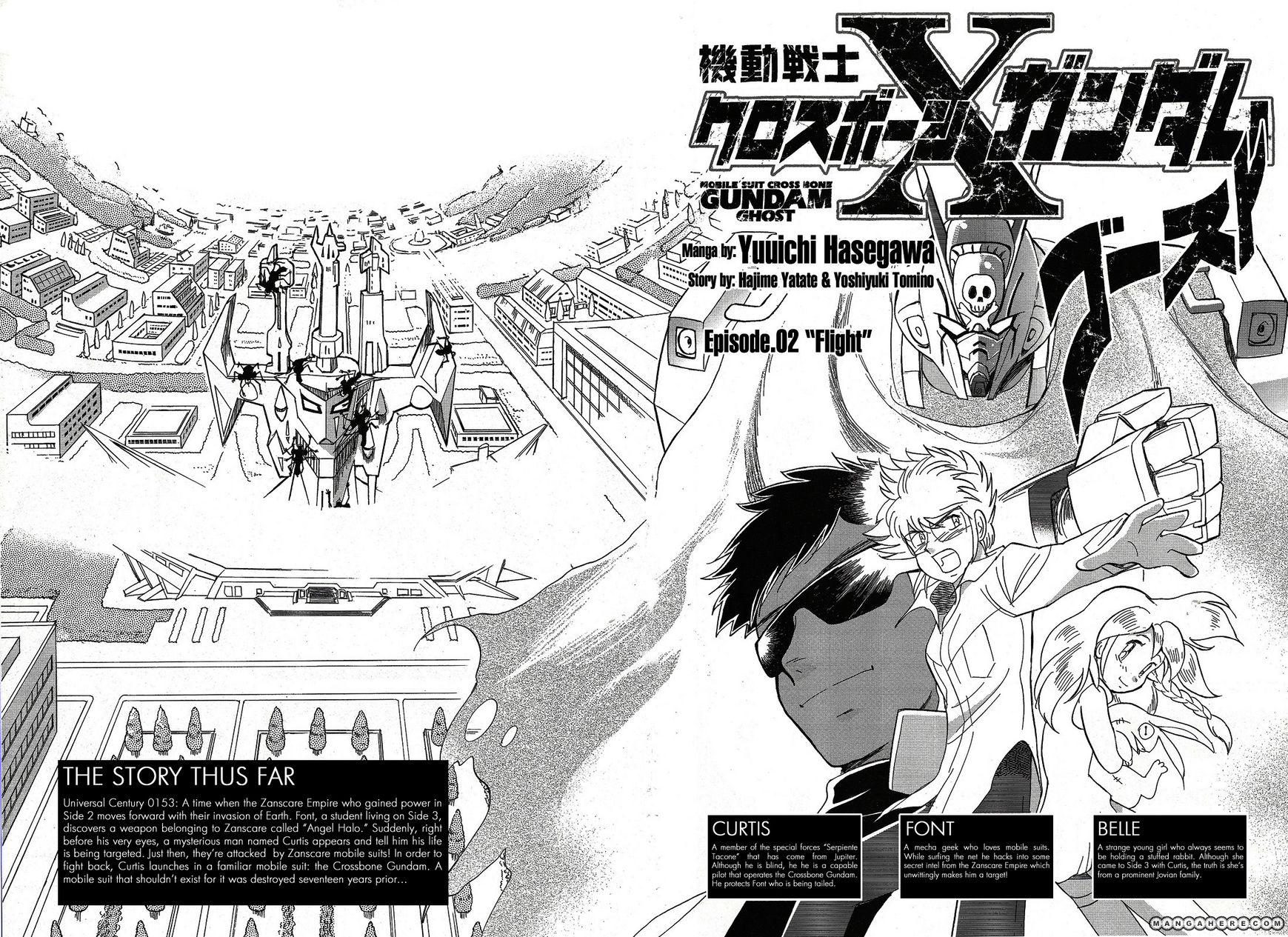 Kidou Senshi Crossbone Gundam Ghost 2 Page 2
