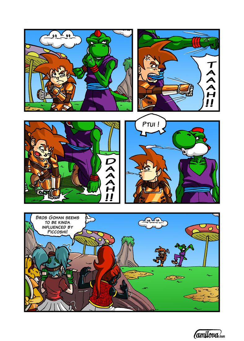 Super Dragon Bros Z 4 Page 1