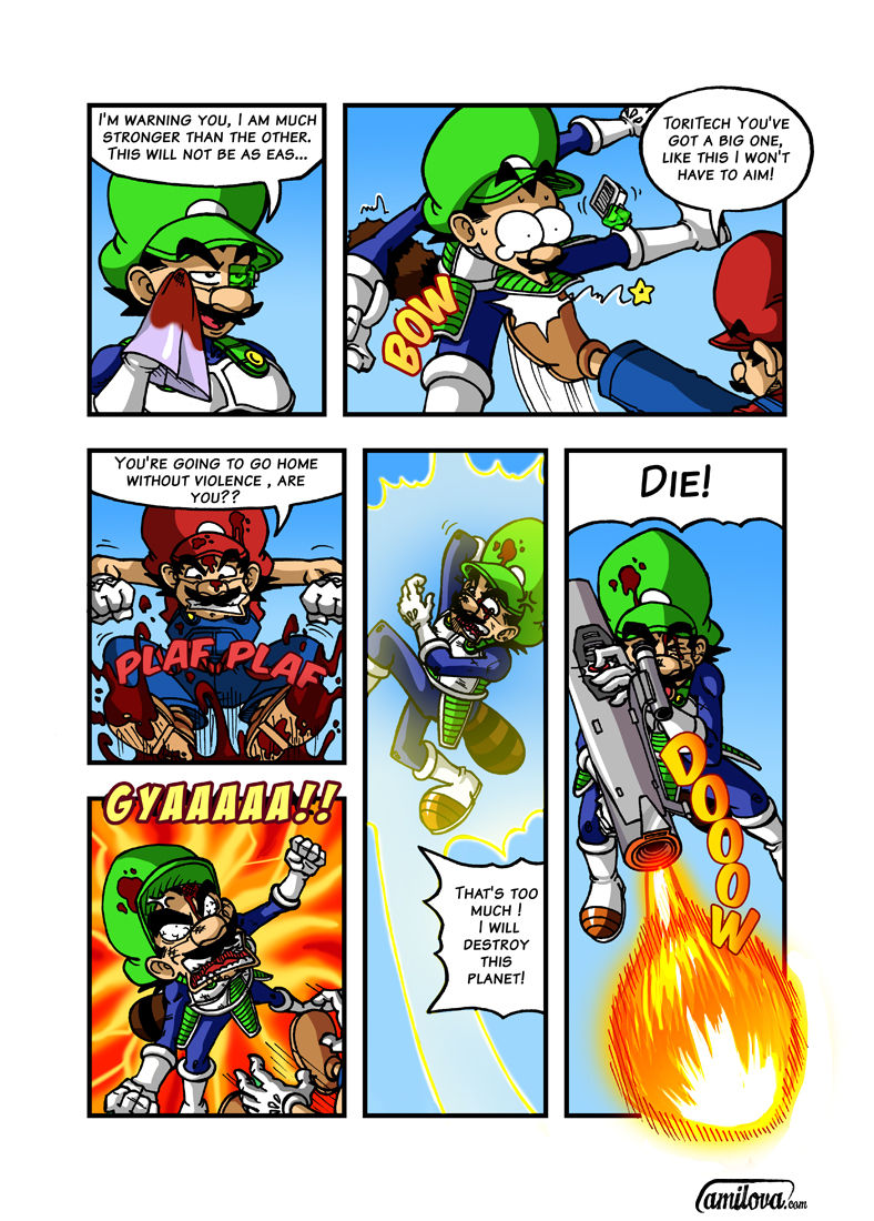 Super Dragon Bros Z 7 Page 1