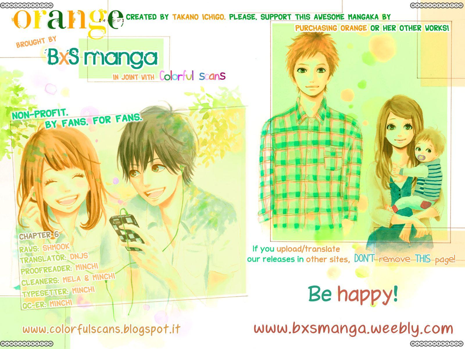 Orange (TAKANO Ichigo) 6 Page 2