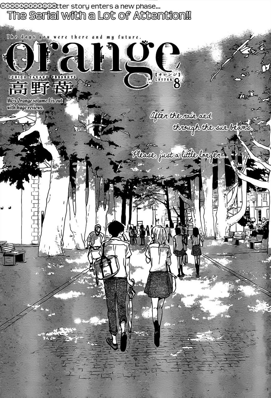 Orange (TAKANO Ichigo) 8 Page 1
