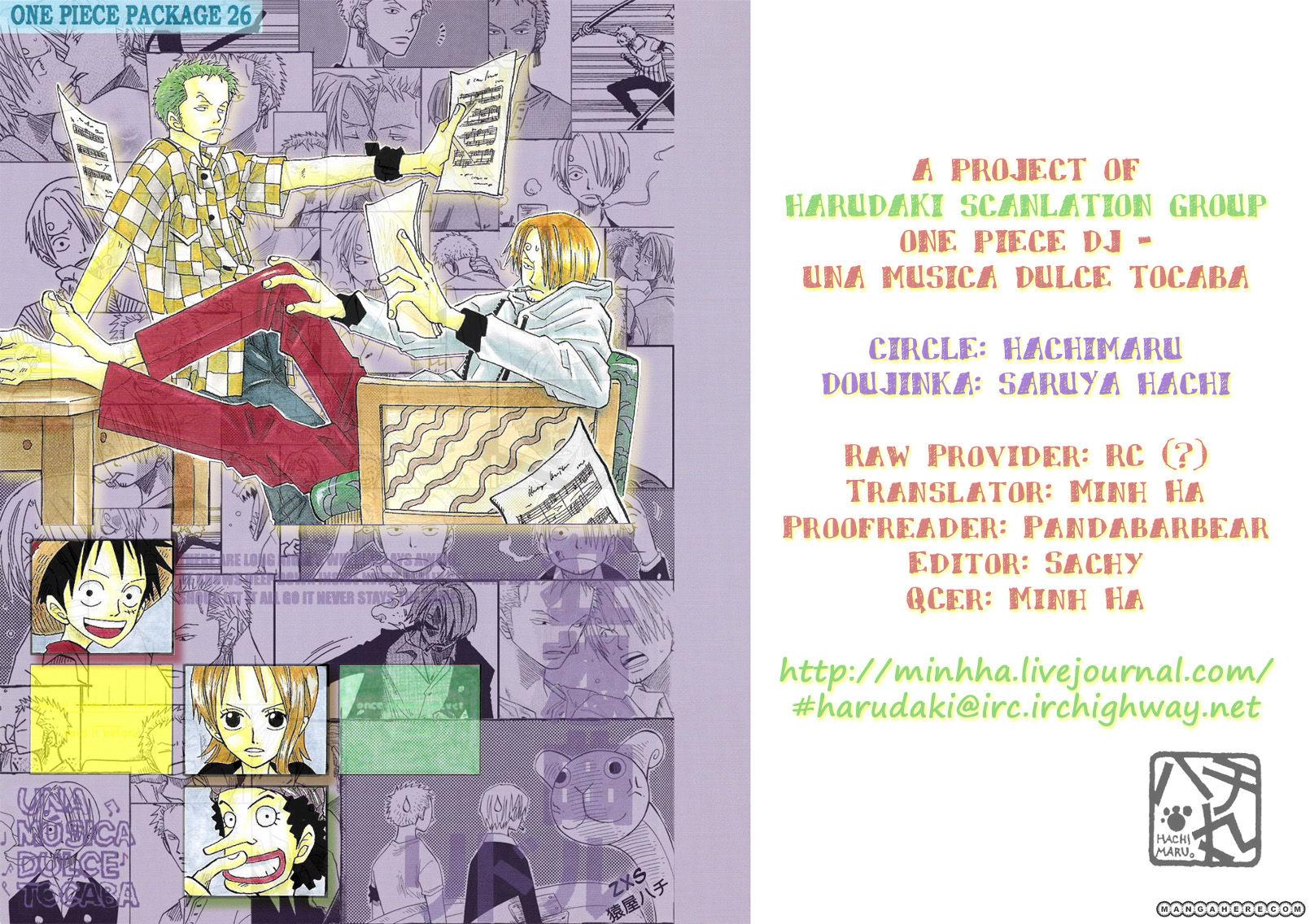 One Piece dj - Una Música Dolce Tocaba 1 Page 1