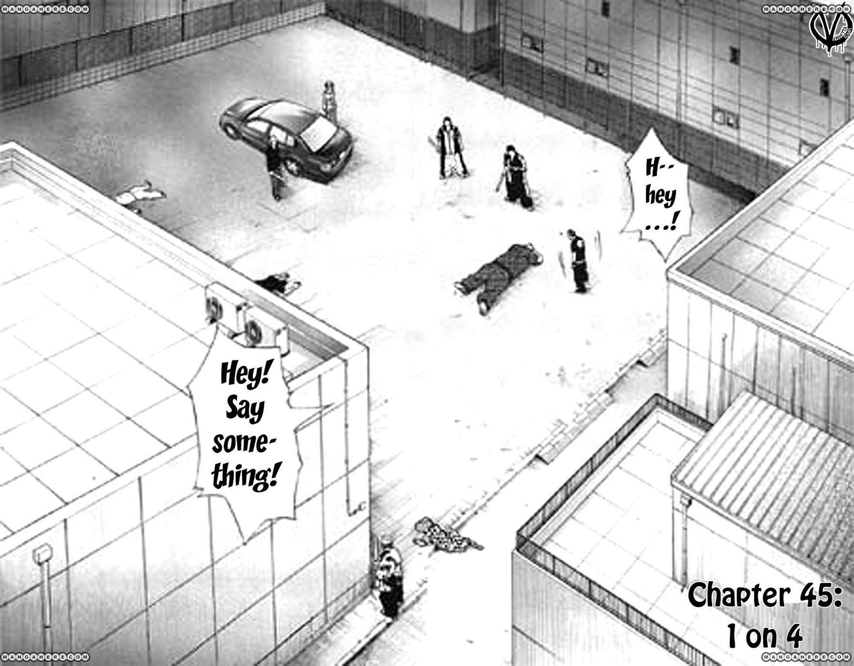 Clover (TETSUHIRO Hirakawa) 45 Page 3