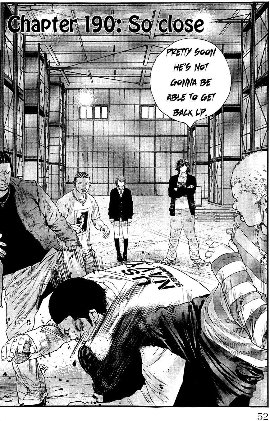 Clover (TETSUHIRO Hirakawa) 190 Page 3