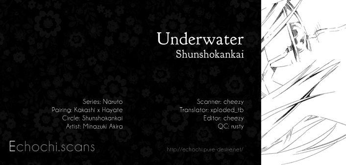 Naruto dj - Underwater 1 Page 1