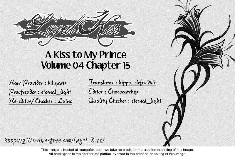 A Kiss To My Prince 16 Page 1