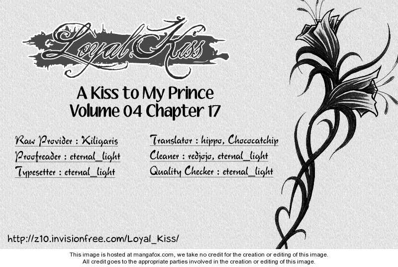 A Kiss To My Prince 17 Page 1