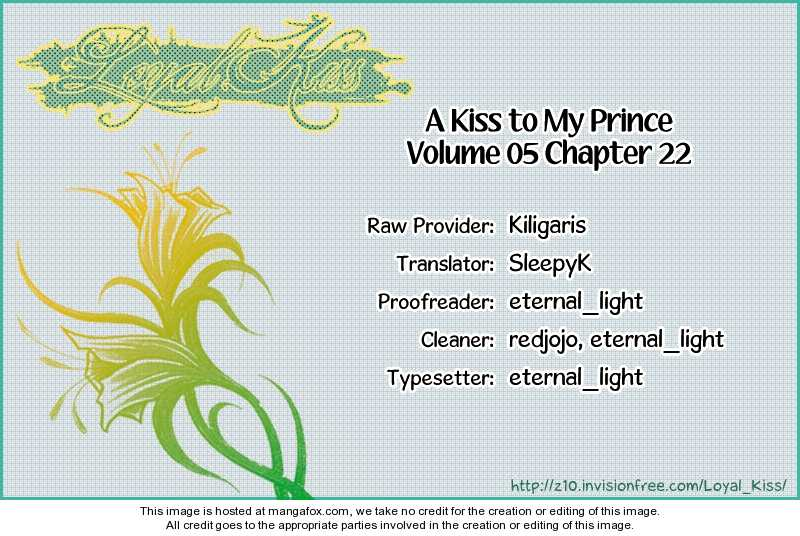 A Kiss To My Prince 22 Page 1