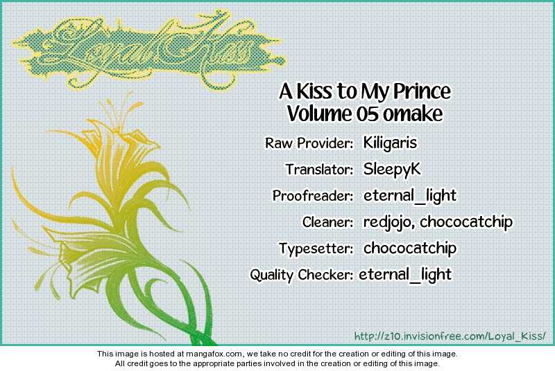 A Kiss To My Prince 22.1 Page 1