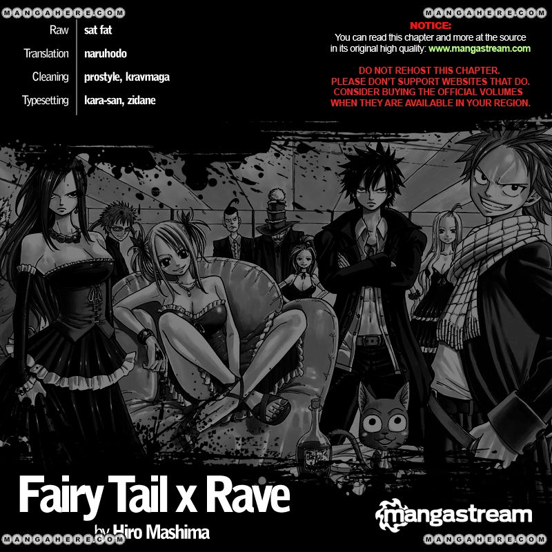 Fairy Tail x Rave 1 Page 2