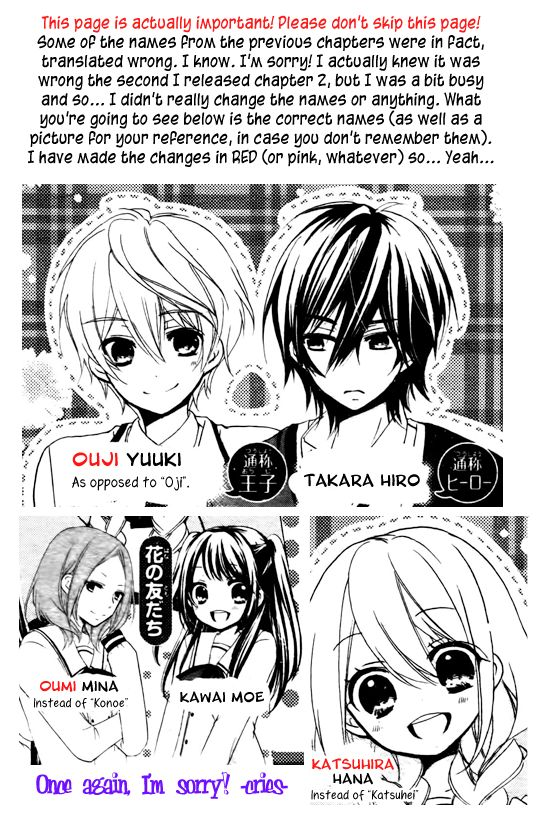 Ouji to Hero 3 Page 3