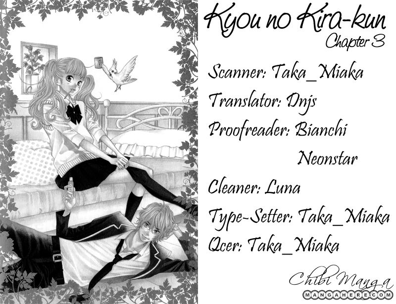 Kyou no Kira-kun 3 Page 1